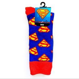 Superman DC Comics Super Hero Crew Socks
